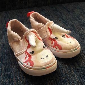 VANS Unicorn toddler shoes